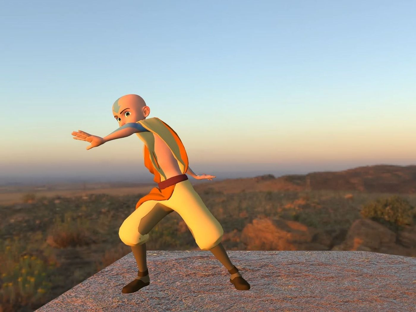 Avatar the Last Air Bender | Body Mechanics