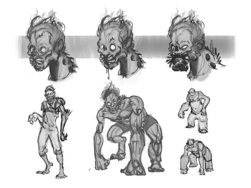 Frankensteins Monster Character Concept