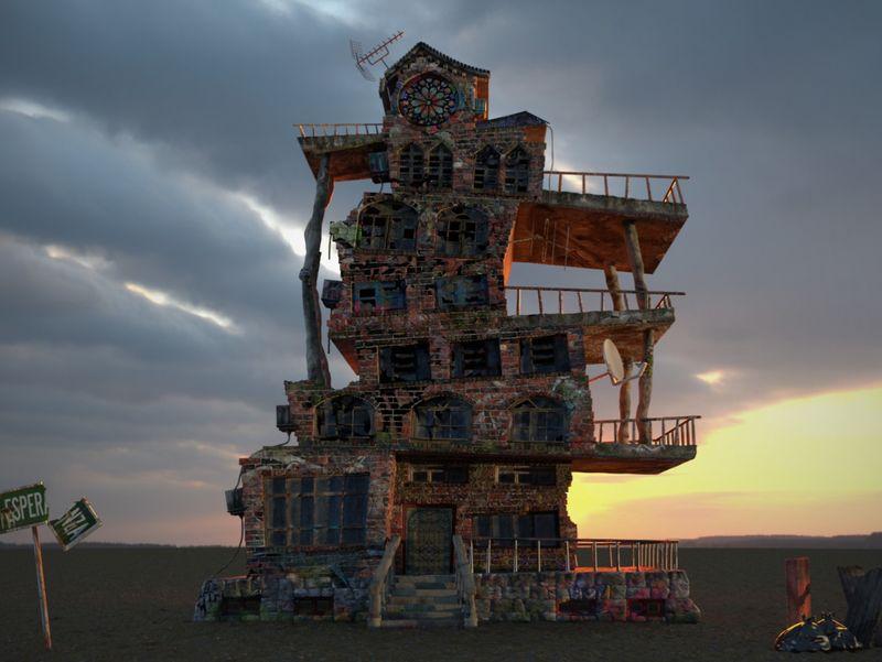 Casa de un Diablero
