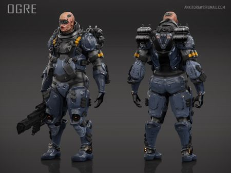 ogre unit character design