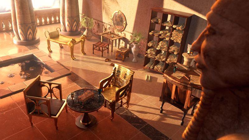 Nefertiti's Palace
