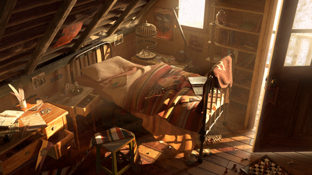 Ron Weasley's bedroom