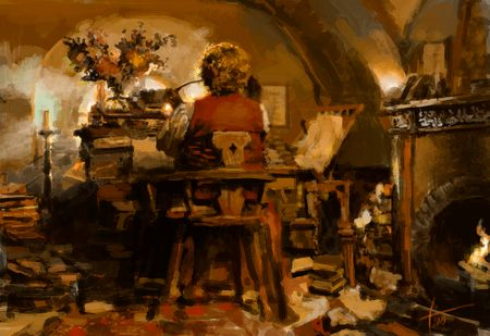 Bilbo's home