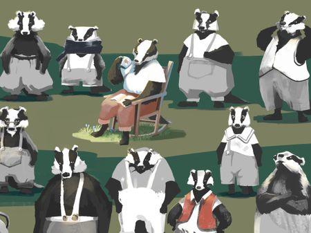 Badger - character sketch