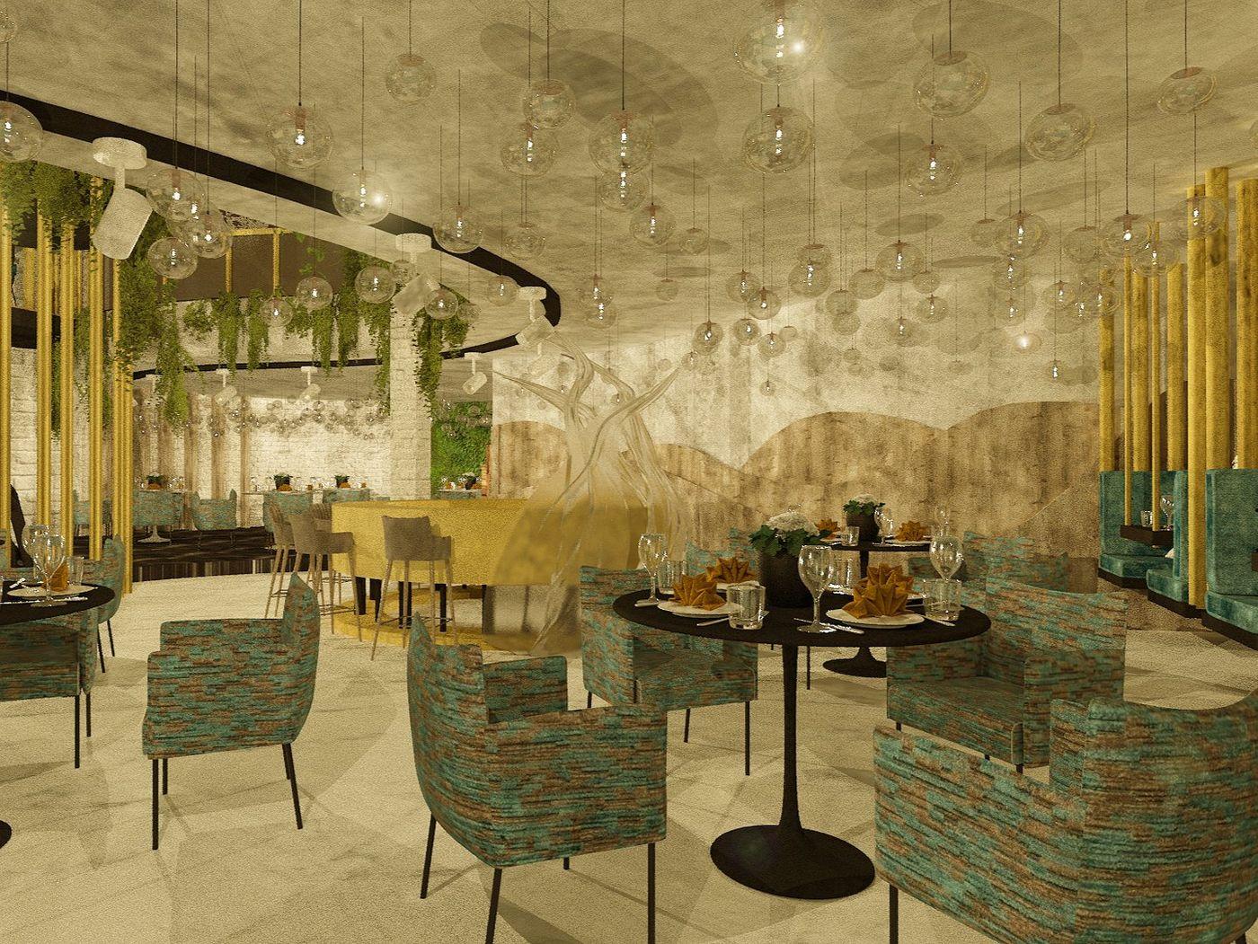 Restaurant Design - Le Bernardin