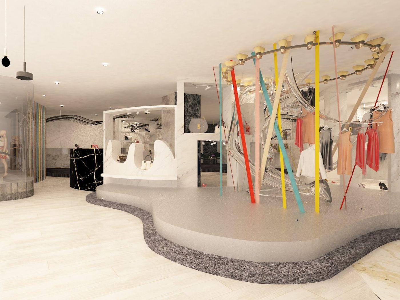 Retail Design - Maison Martin Margiela
