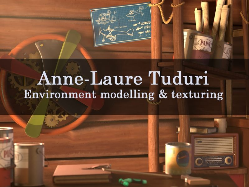 Anne-Laure Tuduri Demo Reel 2019