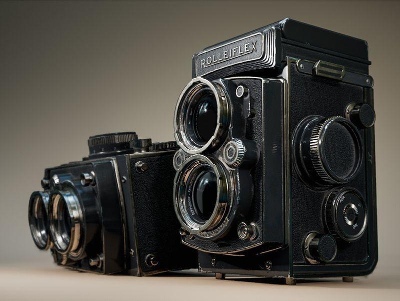 Rolleiflex Vintage Camera