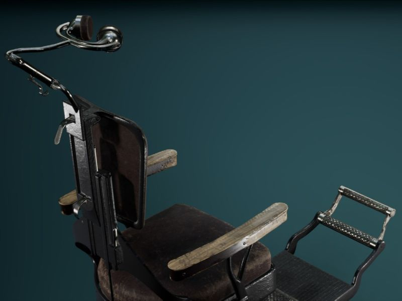 Vintage Dental Chair