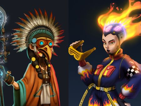 Concept Art : Character Design