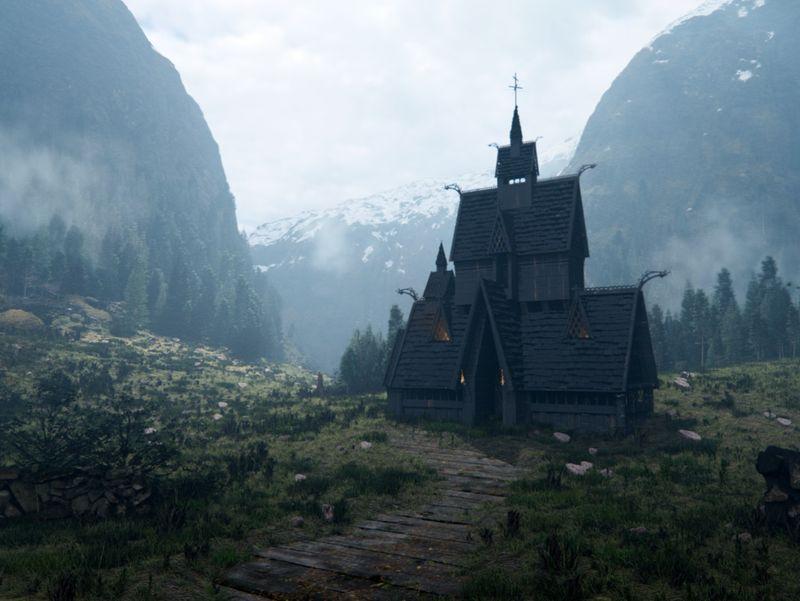 Cinematic Norway Environment