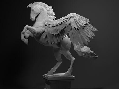 Pegasus Sculpt