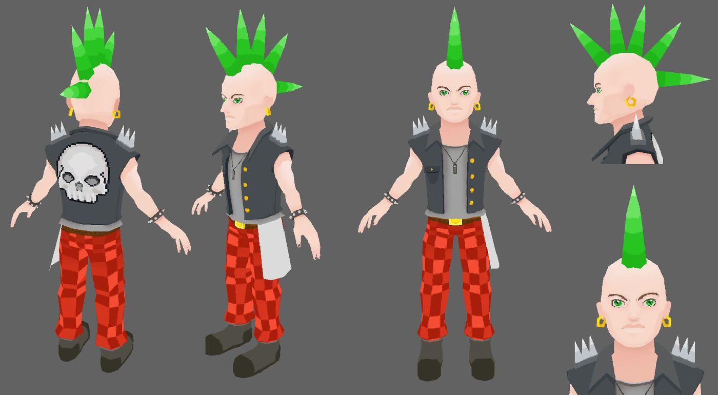 Punk02 Annmakesart