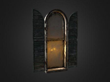 Neibolt House Window