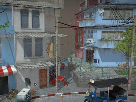 Bangkok cityscene