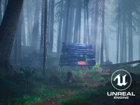 Misty Forest - Unreal Engine Environment