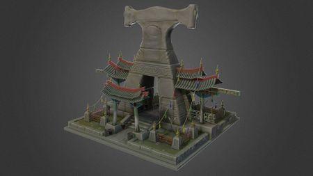 Mongolian Altar