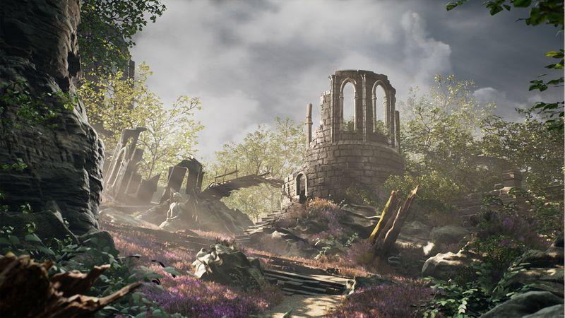 Ruins Scene