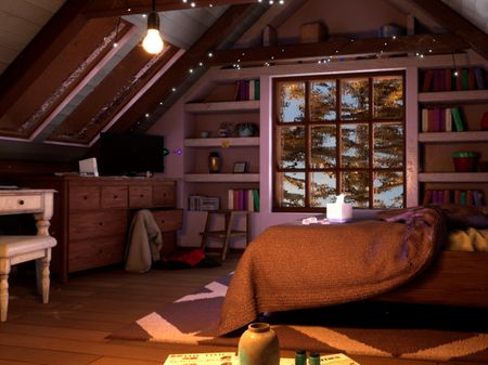 Attic Room: The Perfect Storm