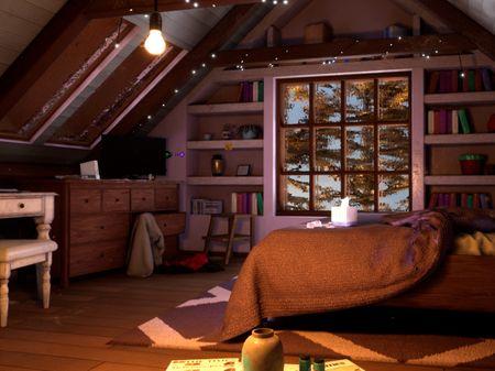 Attic Room: The Perfect Storm