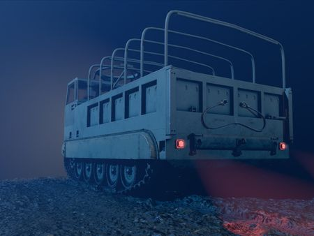 M548 Tracked Cargo Carrier Vehicle