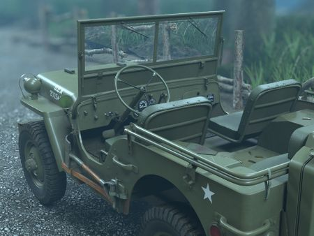 Willys MB Military Jeep