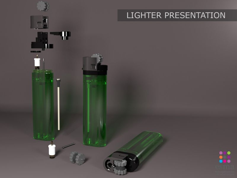 Lighter modeling and texturing