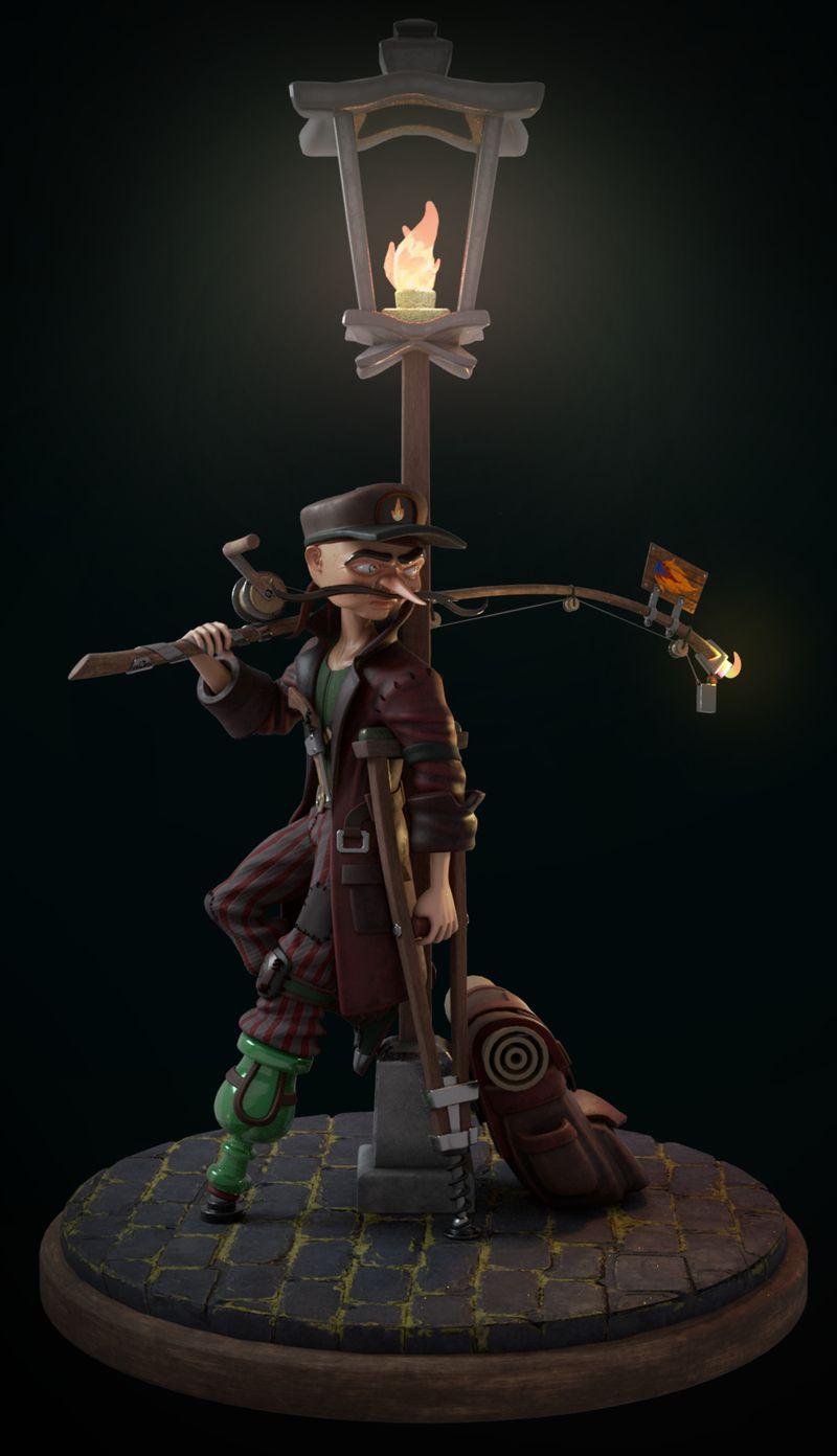 Mustache the pirate