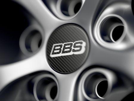 BBS SR Wheels 3D Model.