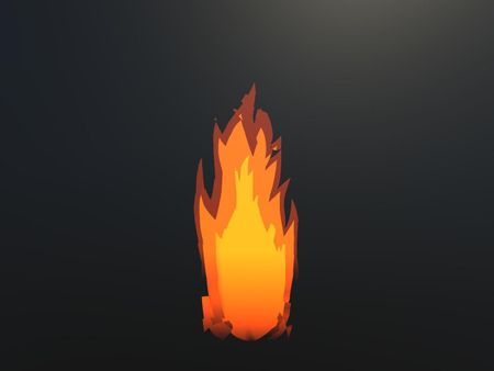 Toon Fire Shader by Javier Molla García
