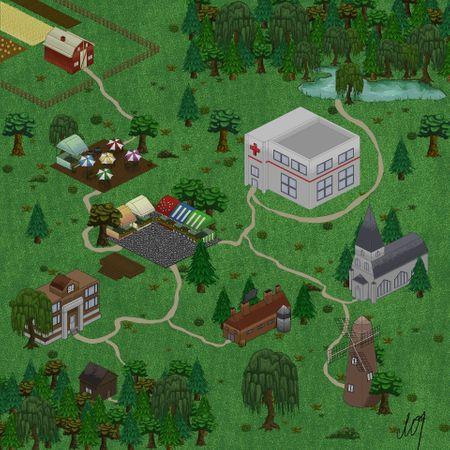 2 day Game Jam - Pixel art city management game