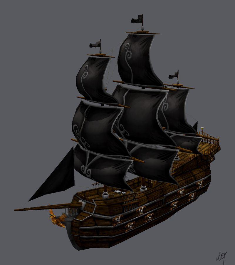 Stylised Galleon