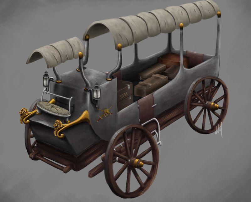 Victorian Ammo Cart