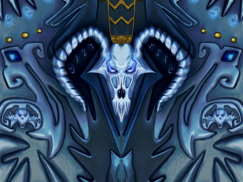Frostmourne / Death Knights Inspired Texture