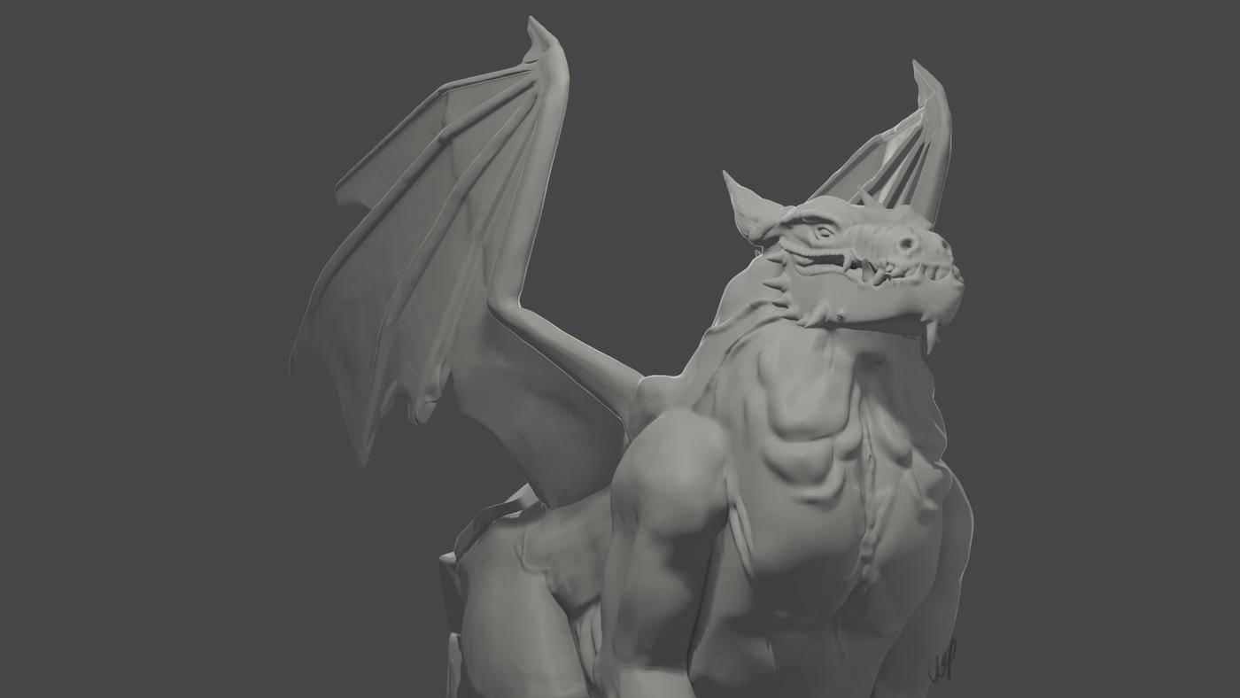 Dragon Render Aonee