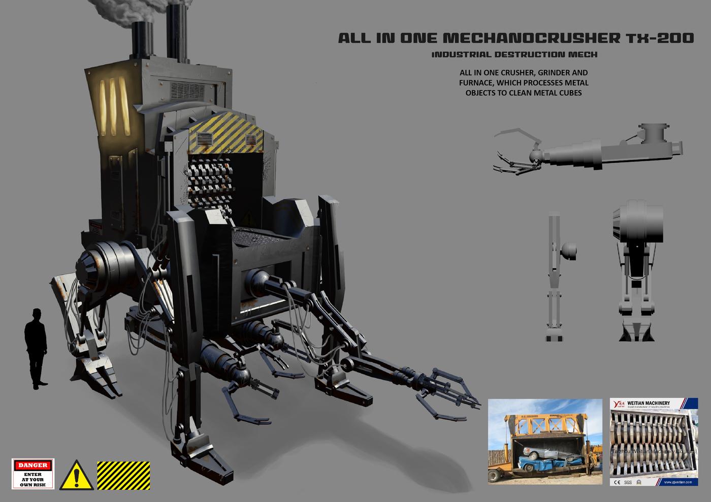 Mech assignment - car crusher