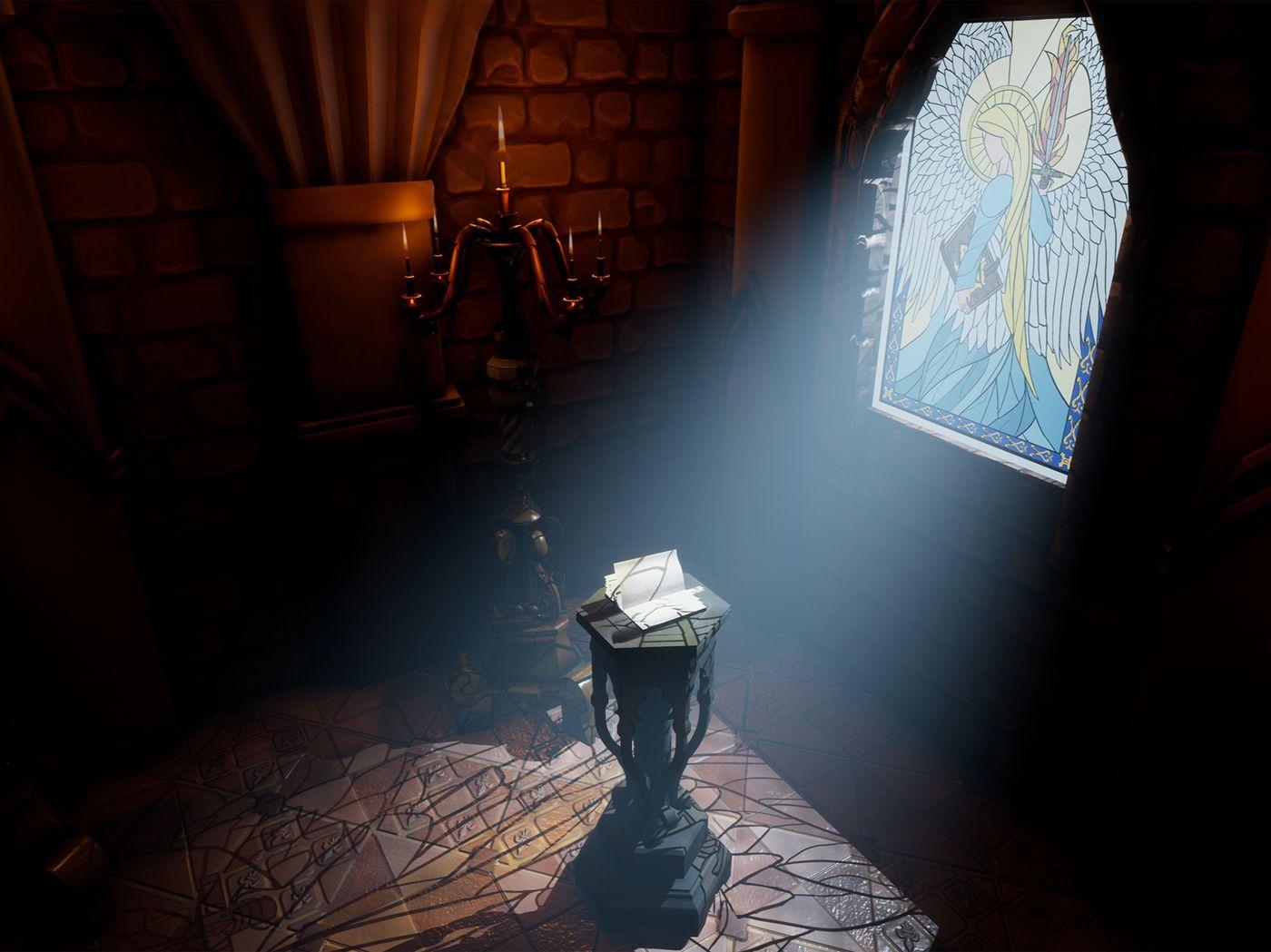 Holy room of prayers