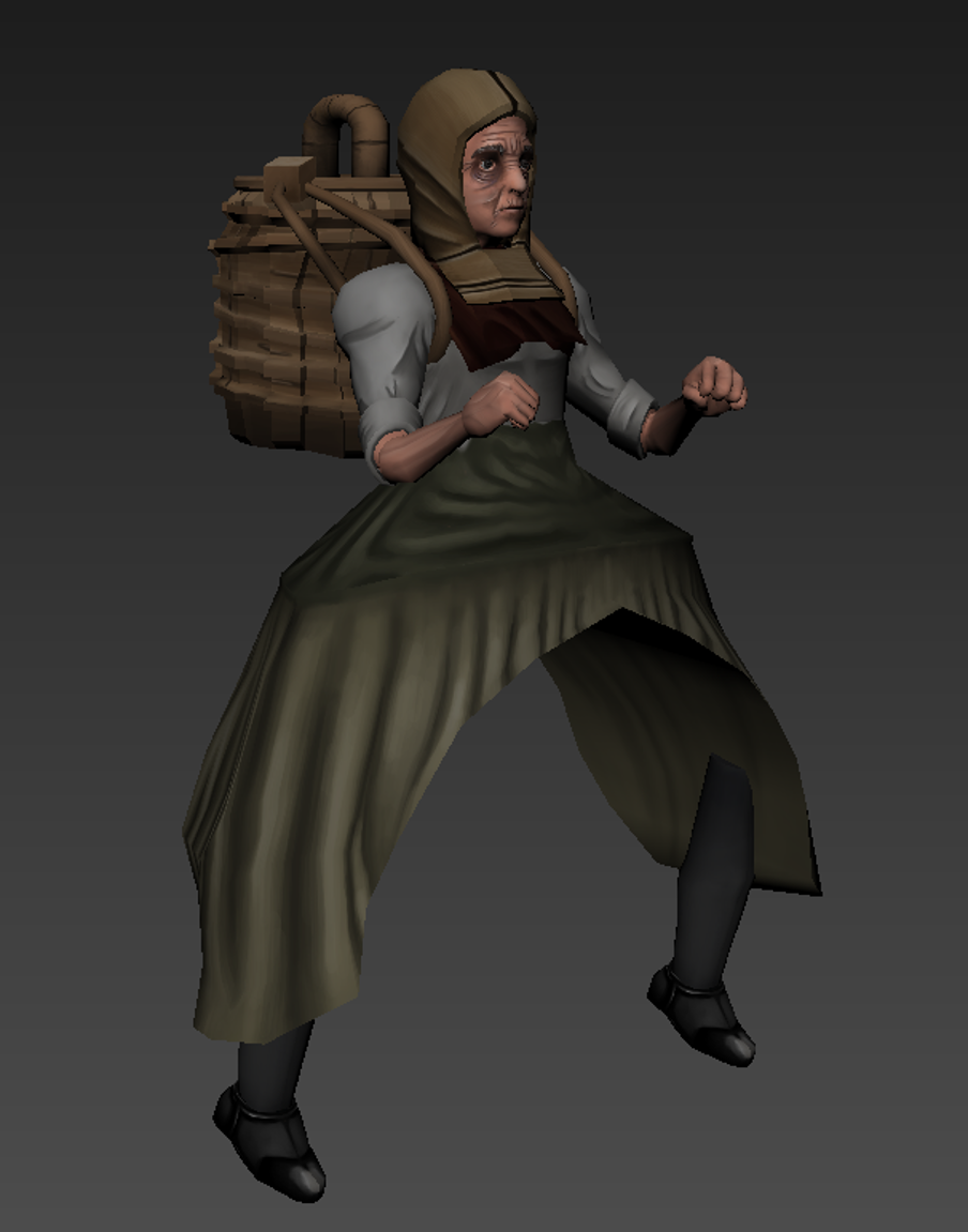 Fisherwoman Tex1 Aonee
