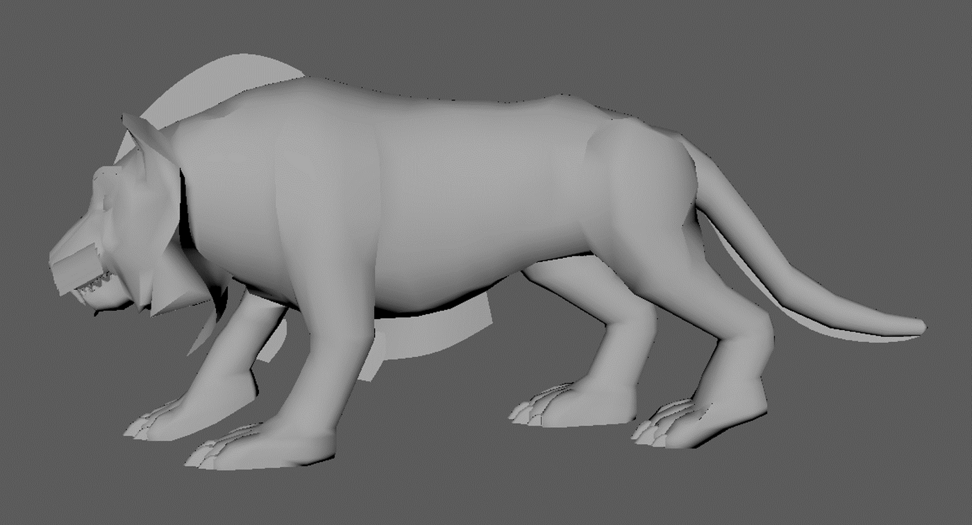 Tiger Model2 Aonee