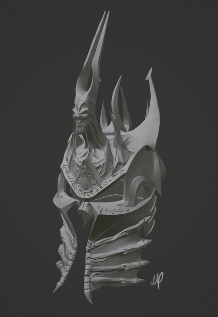 The Helm of Domination - Lich King WoW/Warcraft 3 [fanart/replica]