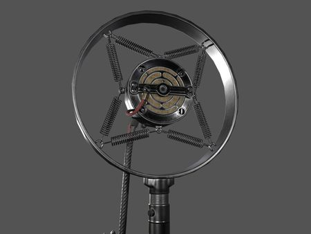 1930's Carbon Microphone