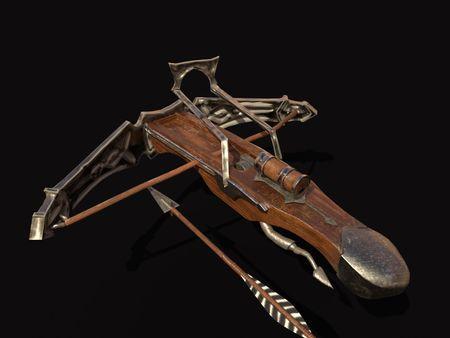 Stylized Bow and Arrow
