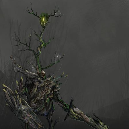 Greater Spriggan - Creature Concept