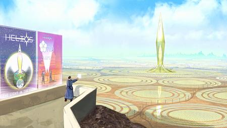 Atomhawk Solarpunk Competition - Helios (Environment Design)
