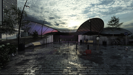 What has never been - Futuristic Museum for Lights and Colors
