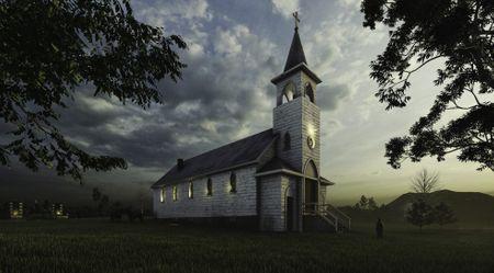 What was -Sacred Heart Church