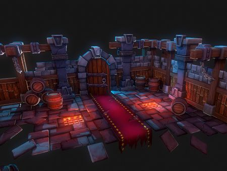Stylized Dungeon Environment