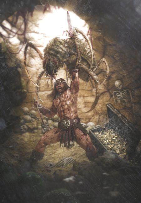 Conan VS Giant NOPE