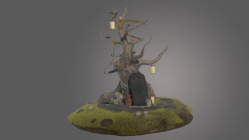 Stylized Diorama