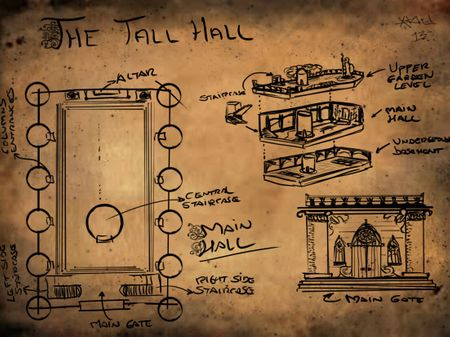 The Tall Hall concept